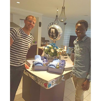 Gay Bisi Alimi gets engaged to Boyfriend