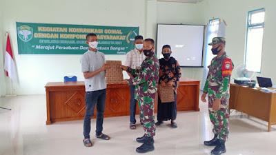 Koramil 07/Johan Pahlawan Komsos Dengan Segenap Komponen Masyarakat