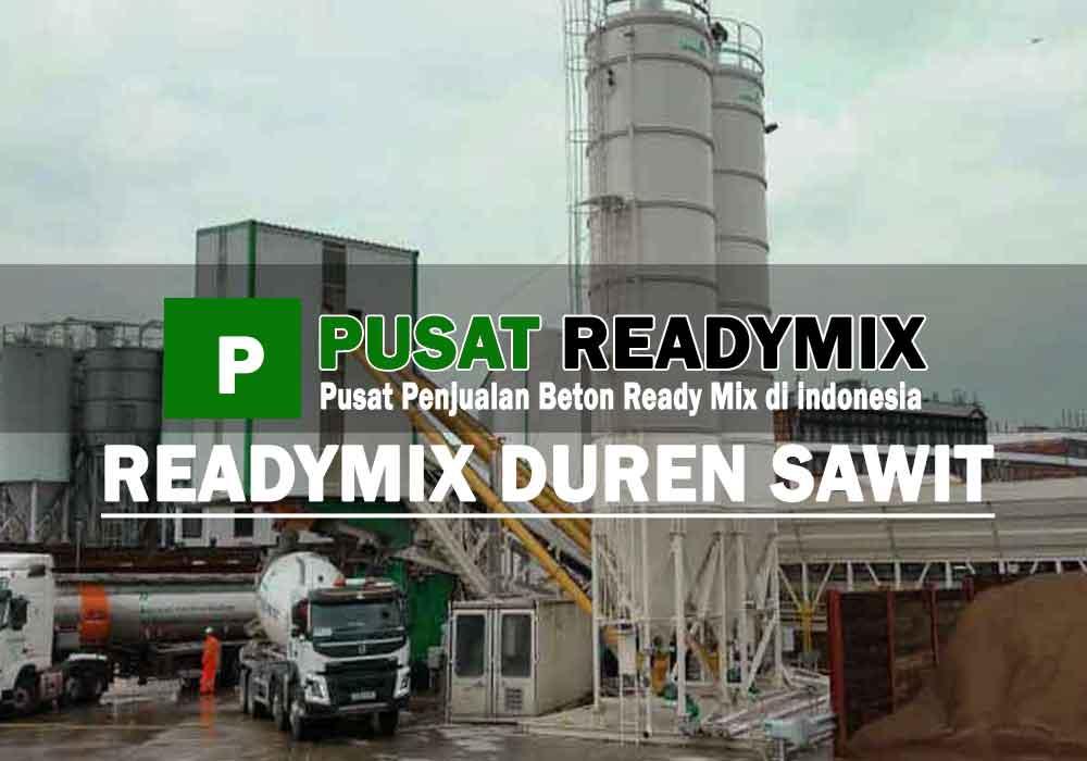 harga beton ready mix Duren Sawit