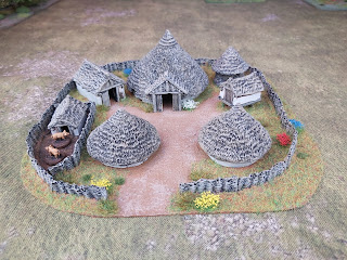 An Iron Age Village in 15mm by Hovels