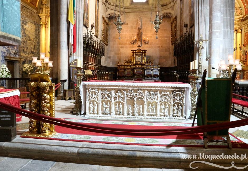 A primeira e mais bela Sé de Portugal + Sé de Braga + visitar + Norte + Blogue português de casal + blogue ela e ele + ele e ela + pedro e telma + opinião + conhecer