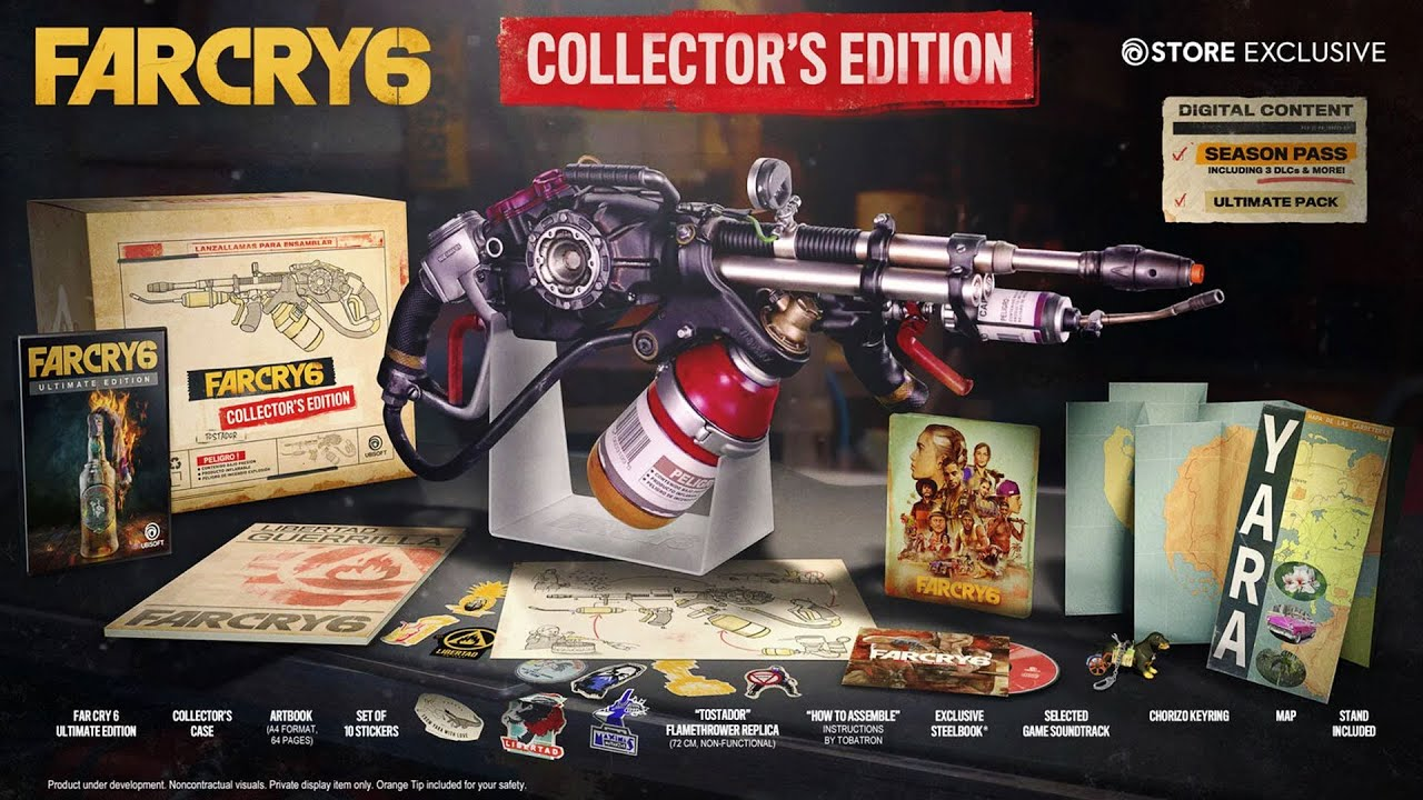 Far Cry 6: Collector's Edition Details