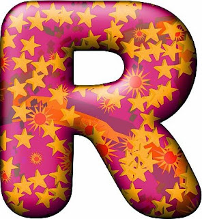Alfabeto con Estrellas en Colores Otoñales.