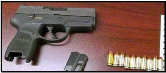 Loaded firearm discovered in carry-on bag at ORF