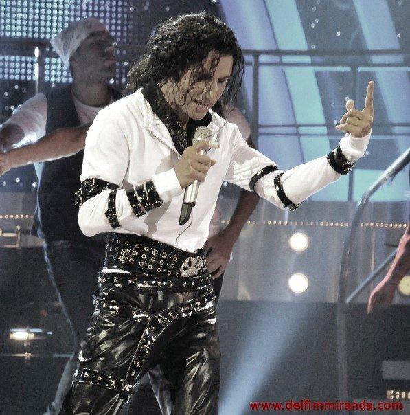 Delfim Miranda - Michael Jackson Tribute - Bad live on TV - TVI/Endemol