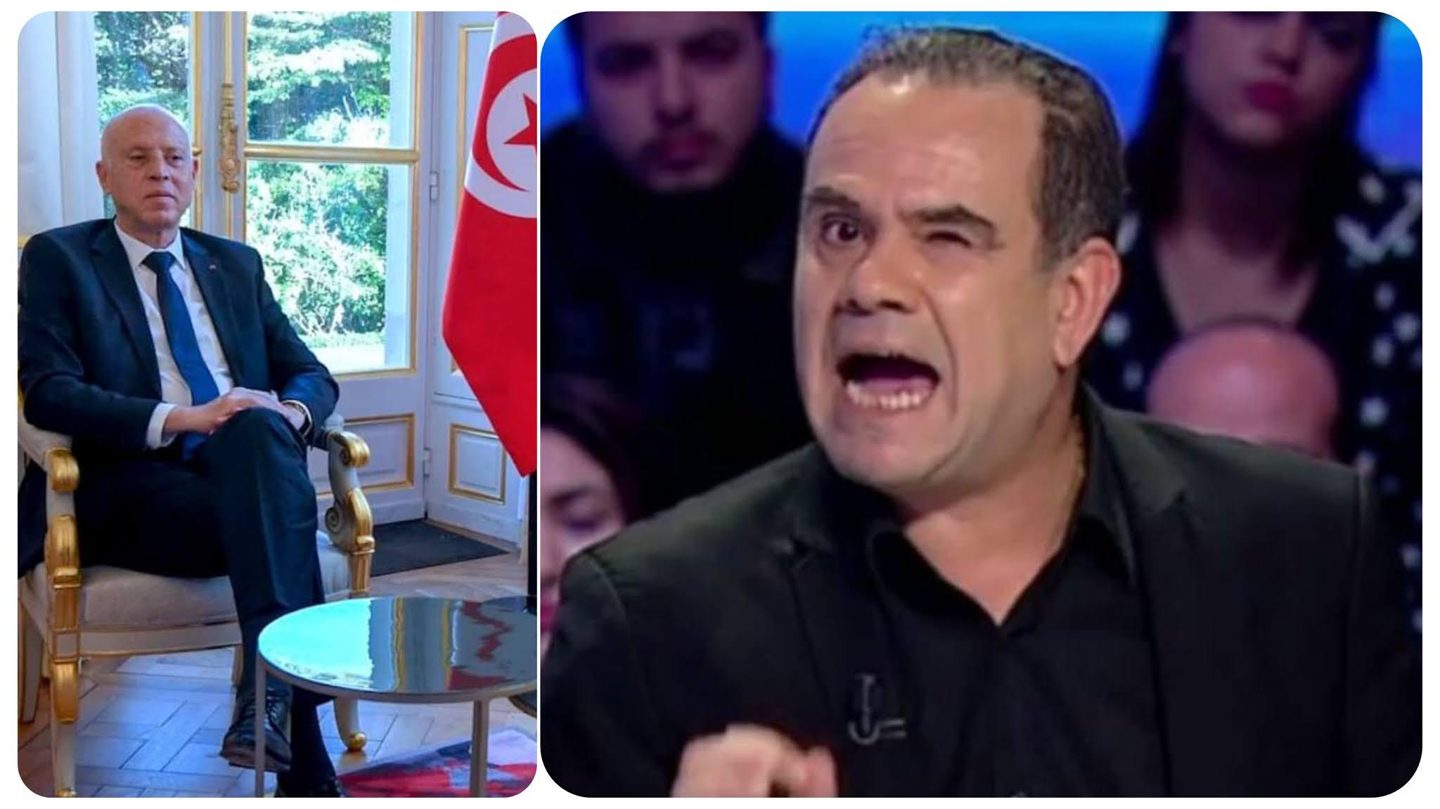 بالفيديو لطفي العماري: في مصر لديهم ديكتاتور يبني ويجلب الاستثمار وفي تونس لدينا رئيس ديمقراطي متسول مادد يدو للطلبة