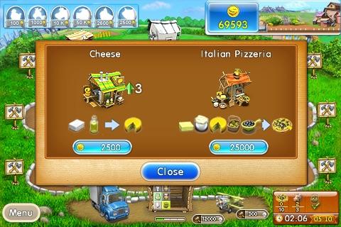 تحميل لعبة فارم فرنزي الجزء الاول Farm Frenzy كاملة برابط