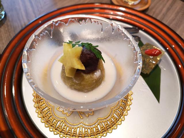 日本薯泥与桂花卷