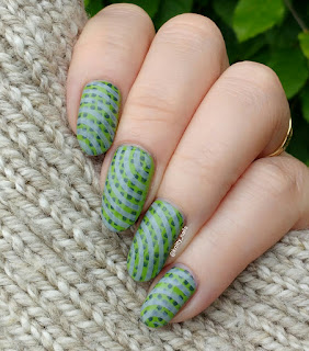 Itsy Nails City Girl and Ejiubas Modern Geometry