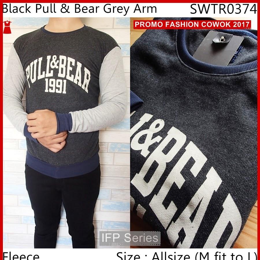 BIMFGP002 Grey Sweater Casual Fashion Pria PROMO