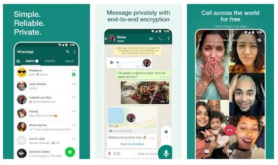 WhatsApp - Aplikasi sosmed yang wajib dimiliki