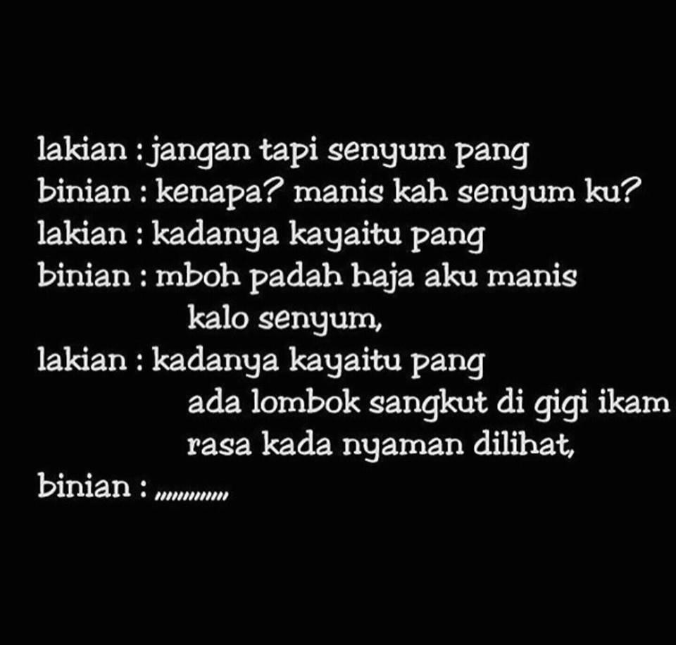 DP Gambar Bahasa Banjar Lucu Banar