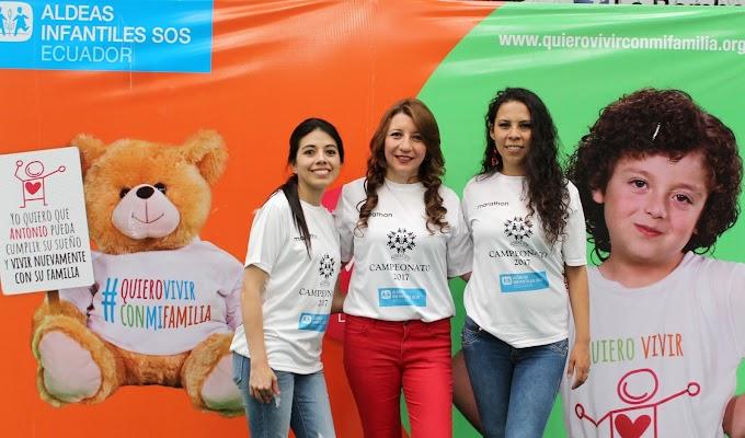 Aldeas Infantiles SOS Ecuador organiza campeonato de fútbol