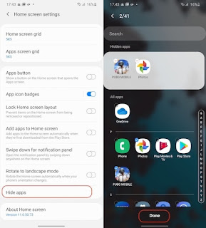 Cara Menyembunyikan Aplikasi di Ponsel Samsung
