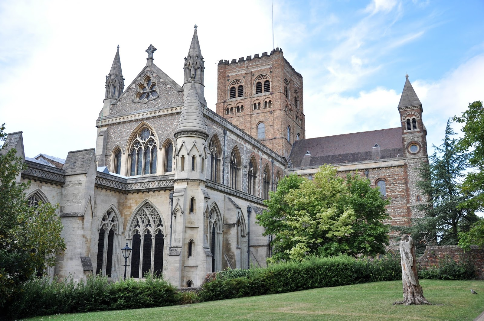 St. Albans Cathedral, St. Albans, Herts, England