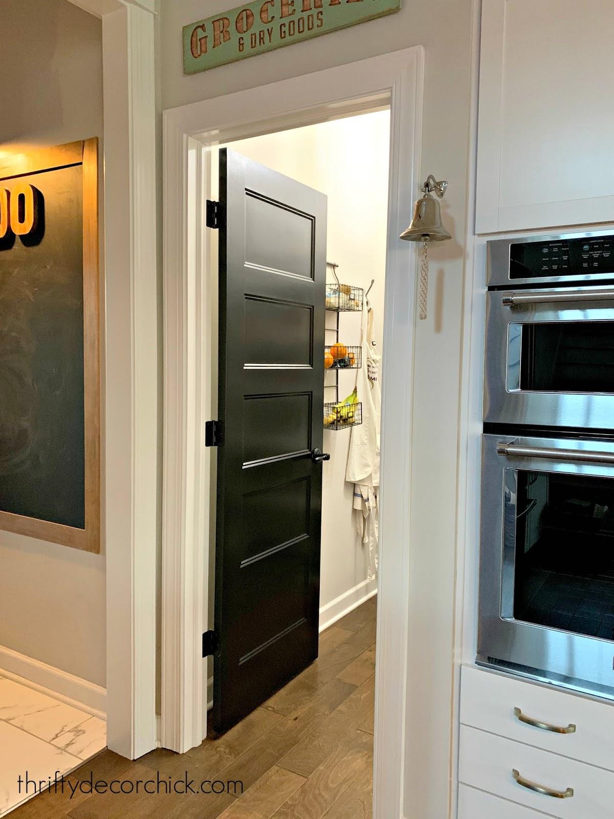 classic black interior doors