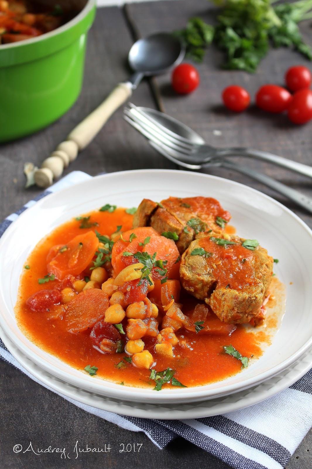 Filet mignon en cocotte carottes pois chiches blogs - Cuisiner un filet mignon de porc en cocotte ...
