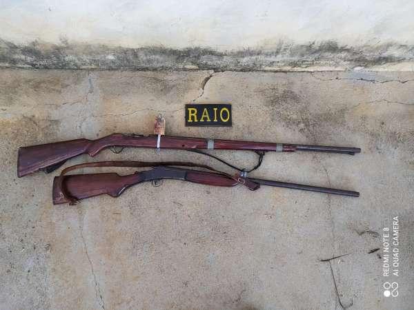 CPRAIO prende dois homens com armas de fogo depois de ameaças em Lavras da Mangabeira
