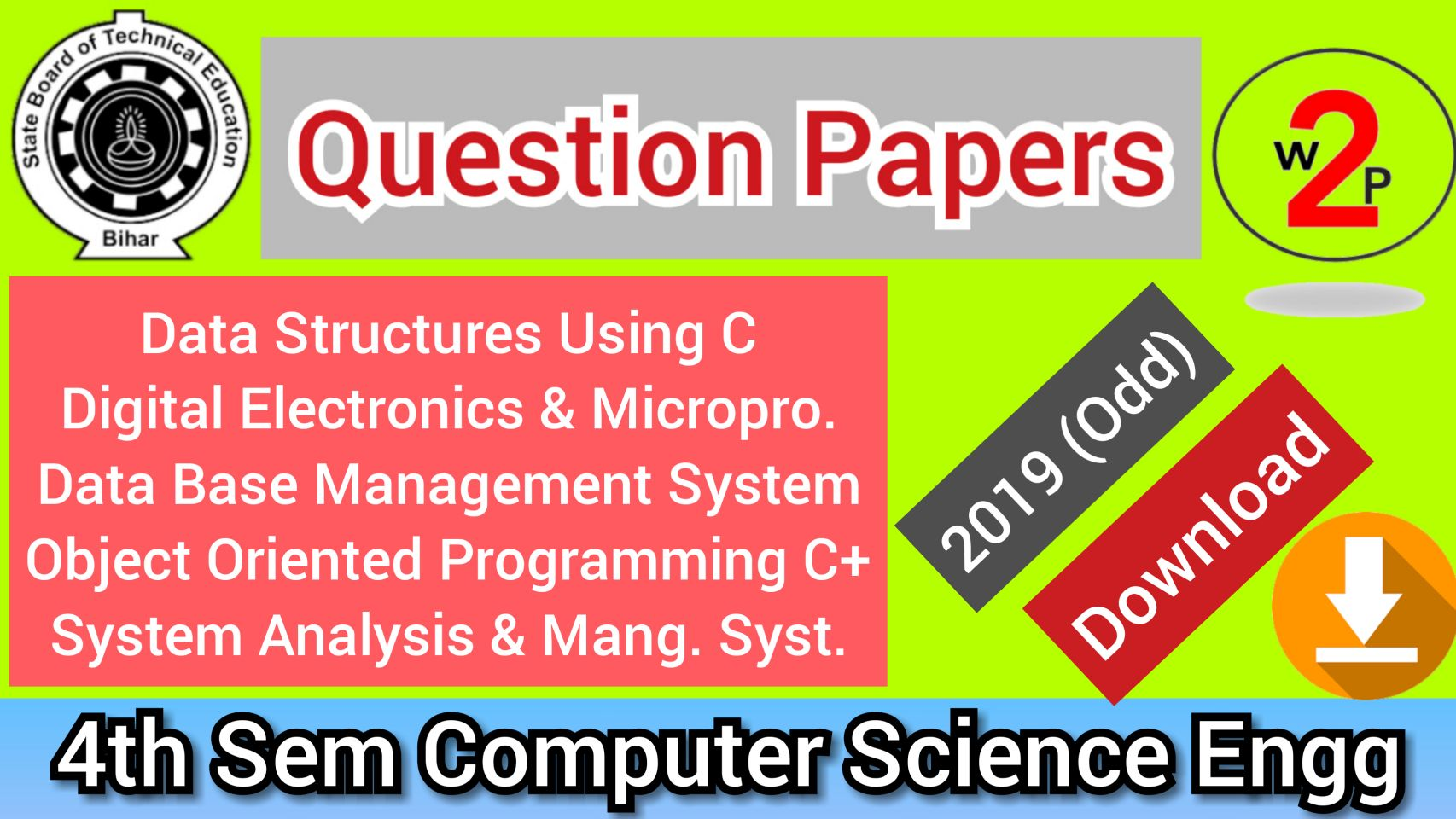 Computer Science Engineering Question Bank