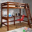 More Room for Activities with Loft Beds