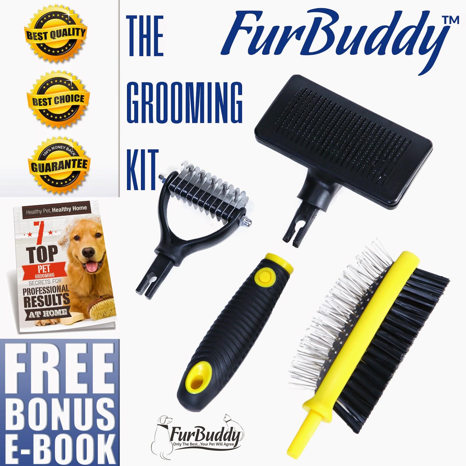 Digital Media Mom Furbuddy Pet Brush Grooming Kit Review