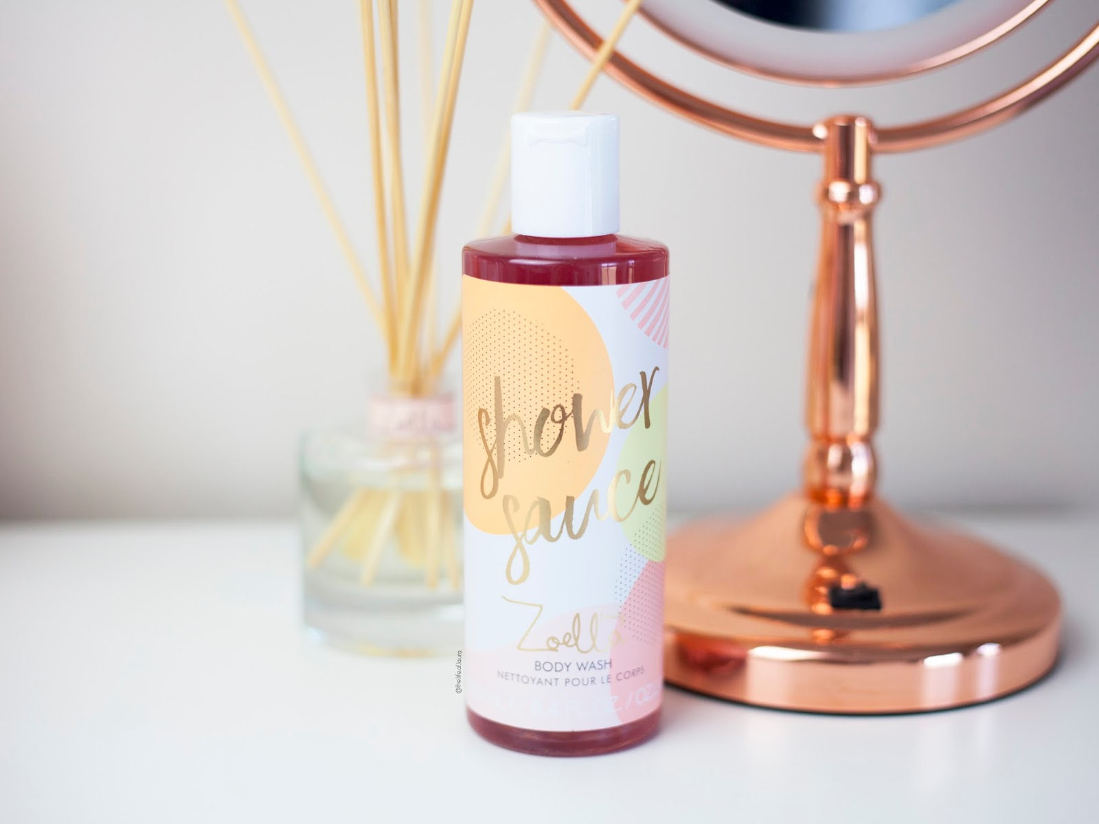 Zoella Jelly and Gelato Shower Sauce