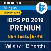 IBPS PO Prelims English Quiz: 28th August 2019_50.1