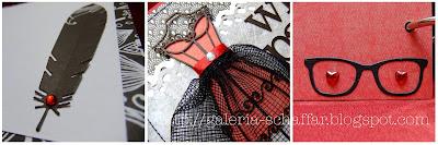ozdobny album handmade-ręcznie robiony Wroclaw schaffar