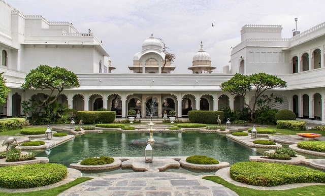Taj Lake Palace Hotel in Udaipur