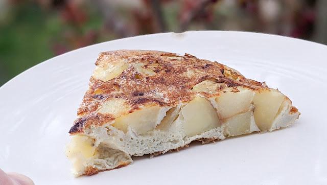 recette, tortilla espagnole, omelette espagnole, 2 ingrédients, comment faire, recette traditionnelle, un jour une recette, étape par étape