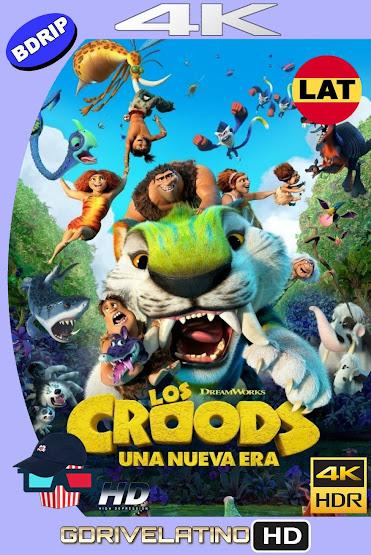 Los Croods 2: Una Nueva Era (2020) BDRip 4K HDR Latino-Ingles MKV