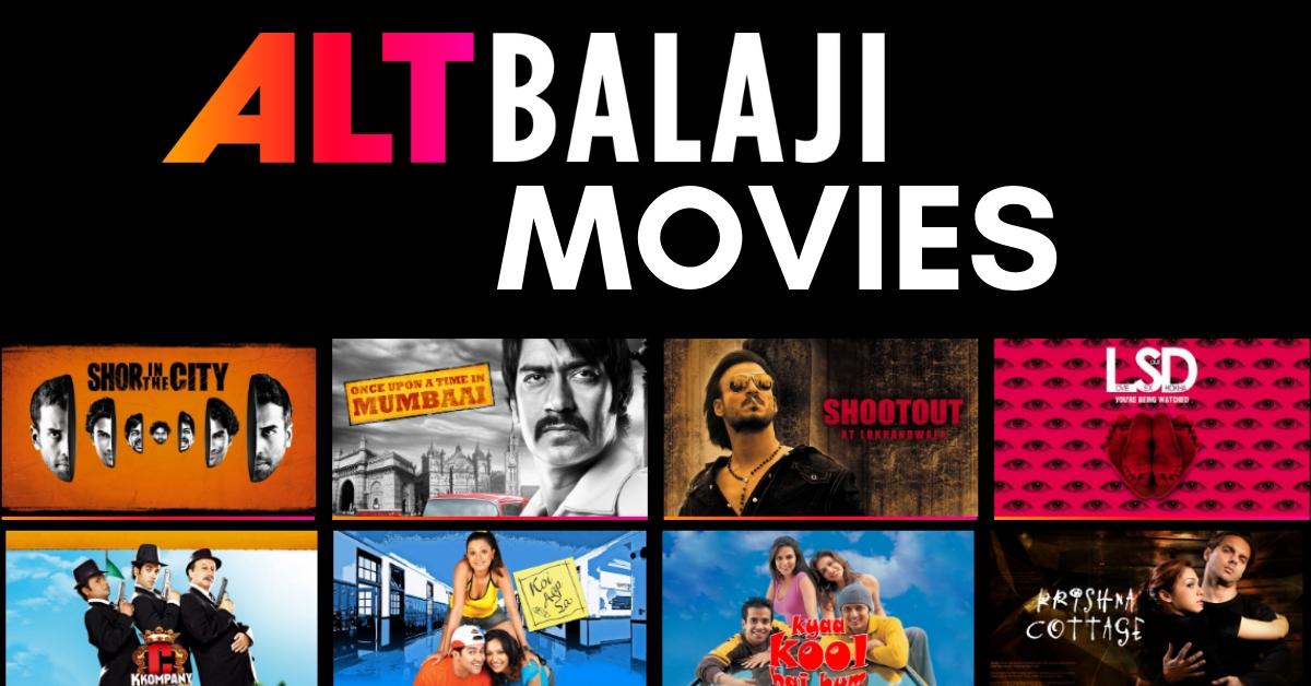 ALTBalaji: ALTBalaji Movies and Tv Shows Free to Watch, Latest ALTBalaji News and Updates
