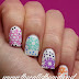 Throwback Thursday #19: Pastel Snowflakes Nail Art