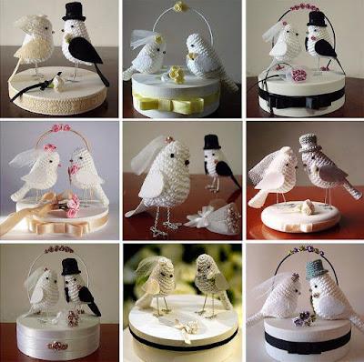 topo de bolo personalizado, topo de bolo em crochê, bolo de casamento