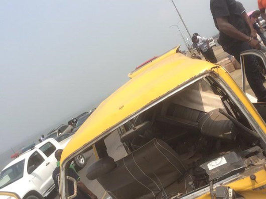 Photos: Multiple accident on 3rd mainland bridge