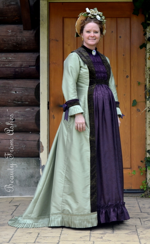 Beauty From Ashes: Natural Form Era Maternity Gown