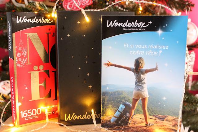 coffret wonderbox, idée cadeau de Noel originale, les petites bulles de ma vie