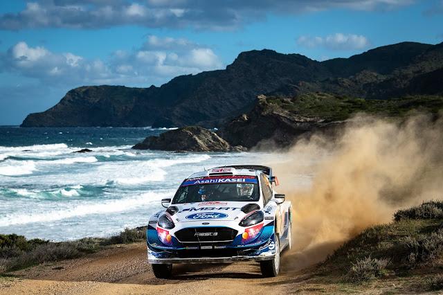 Ford Fiesta WRC car