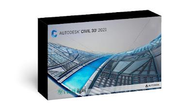 برنامج أوتوكاد سيفل ثرى دى 2021 Autodesk AutoCAD Civil 3D كامل برابط مباشر