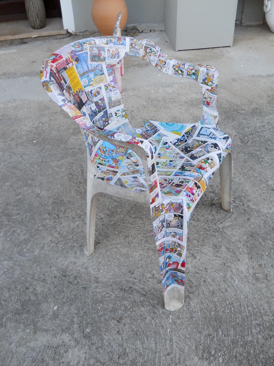 Come Rinnovare Le Sedie Di Plastica.Dipingere Sedie Di Plastica Sedia Polipropilene Colorato Con