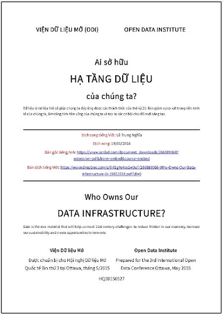 'Ai sở hữu hạ tầng dữ liệu của chúng ta?' - Bản dịch sang tiếng Việt
