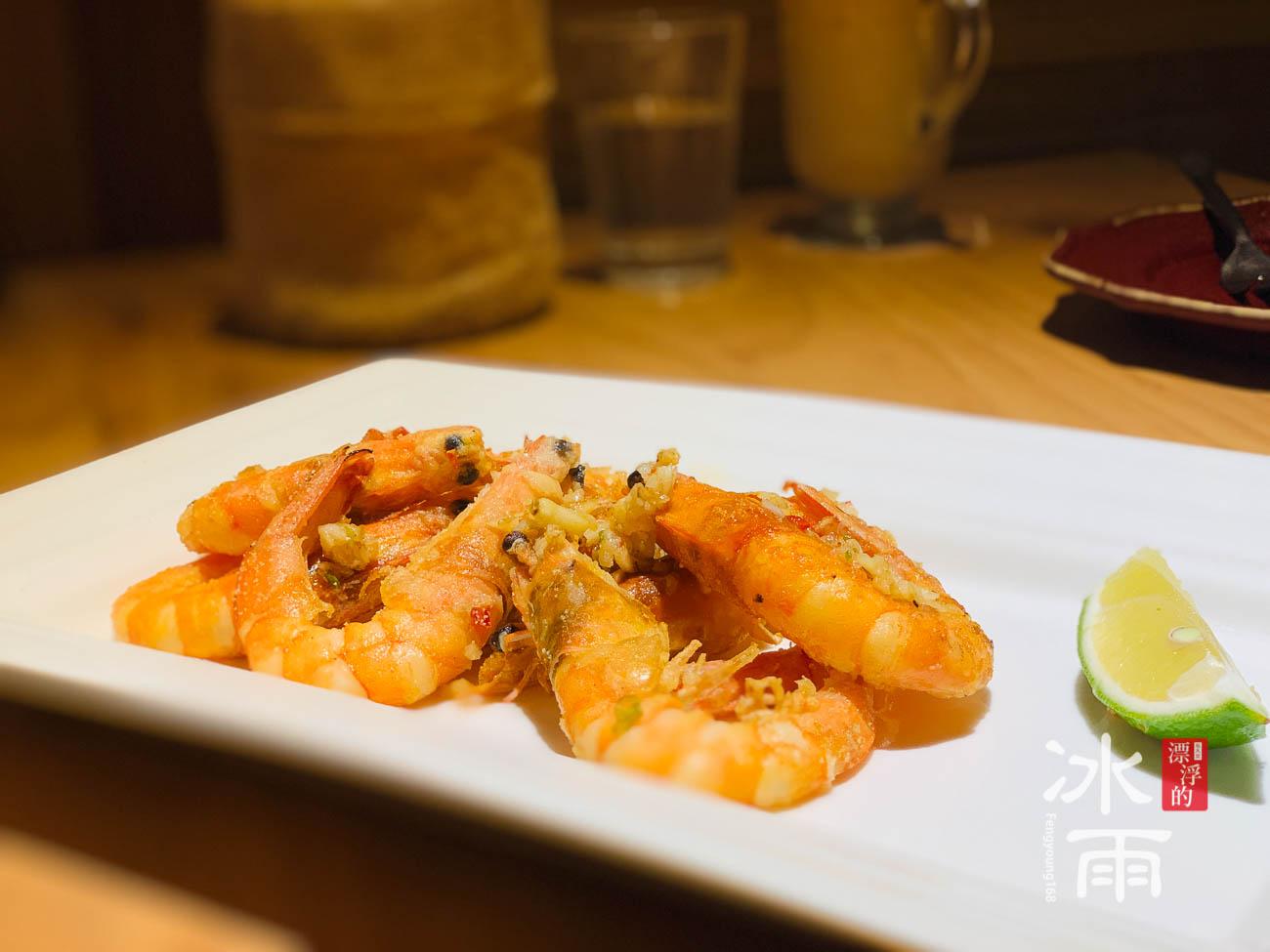 金色三麥大遠百店 蝦子餐
