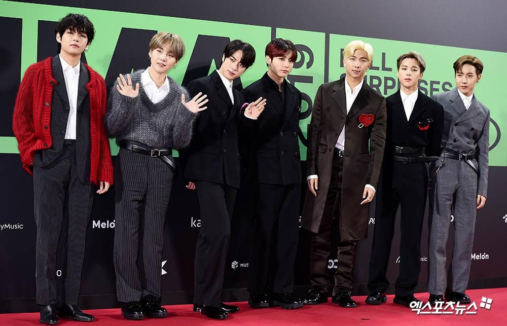 BTS Melon Music Awards 2020