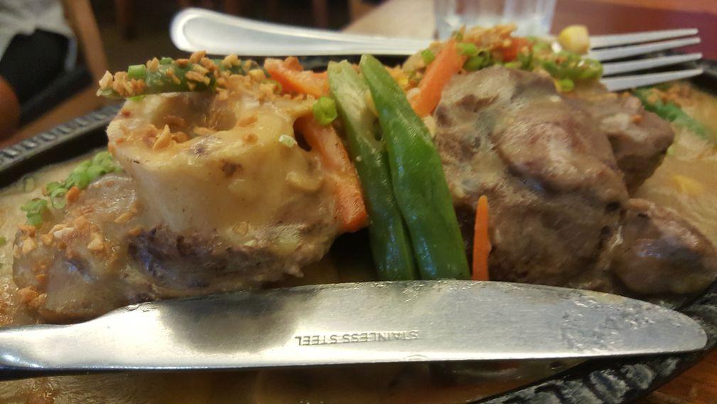 Dekada, Historic Filipino Cuisine's Rizal or Sizzling Bulalo