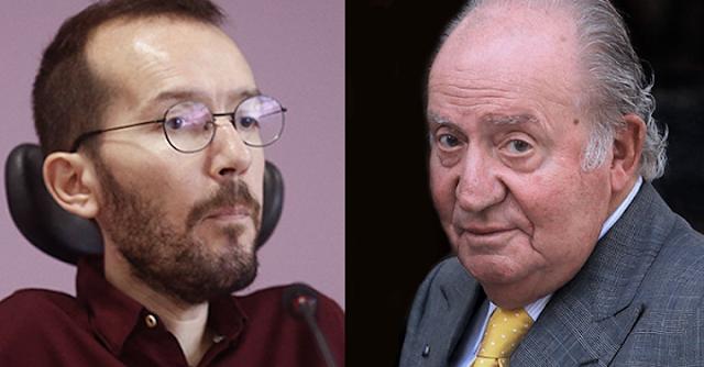 Echenique y Juan Carlos