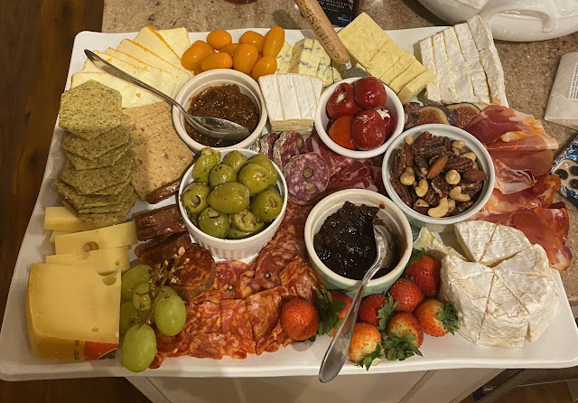 Cheese board platter