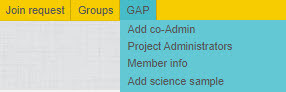 option to add science sample to YFull group