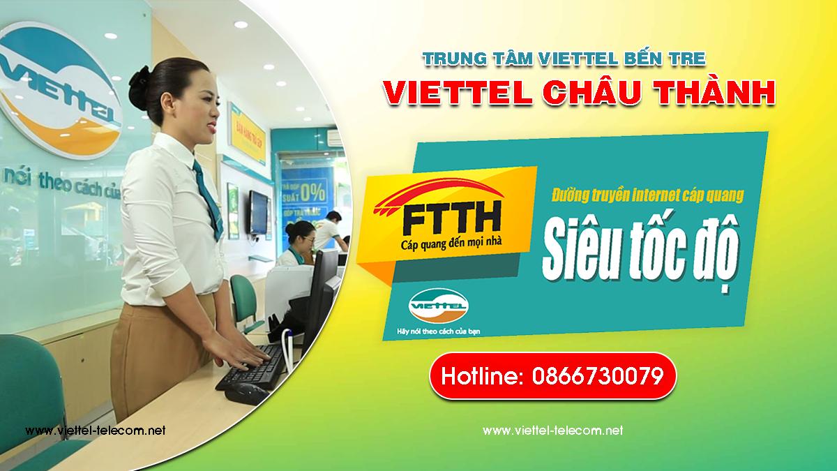 Viettel Châu Thành - Tổng đài đăng ký lắp mạng Internet Viettel, Truyền hình Viettel, Sim Viettel tại huyện Châu Thành miễn phí.