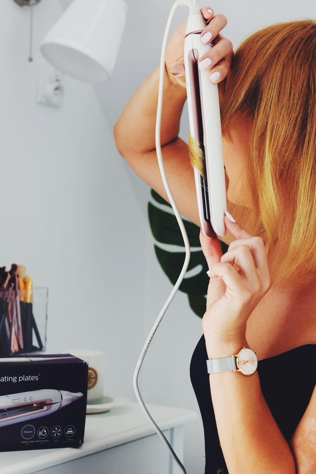 Prostownica do włosów Philips