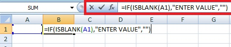 Use of Excel information Function ISBLANK, ISEROOR, ISNUMBER and ISTEXT in Hindi